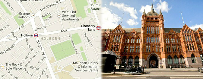 London Tourist Attractions In Holborn