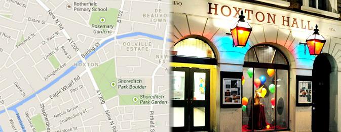 Hotels near Hoxton