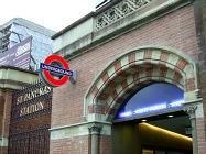 Kings Cross St Pancras Tube Station