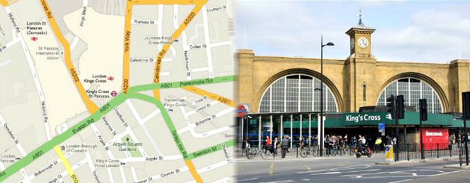 Hotels near Kings Cross