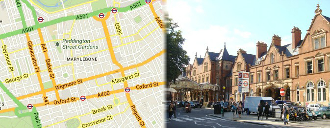 Hotels near Marylebone