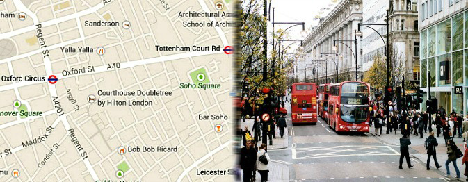 Hotels near Oxford Street