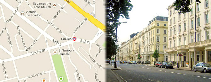 Hotels near Pimlico