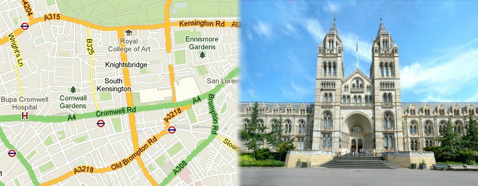 London Tourist Attractions in South Kensington