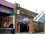 Tube Station on Hammersmith & City Line