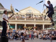 Street performers at Covent Garden