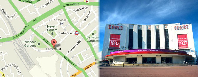 London Earls Court Guide