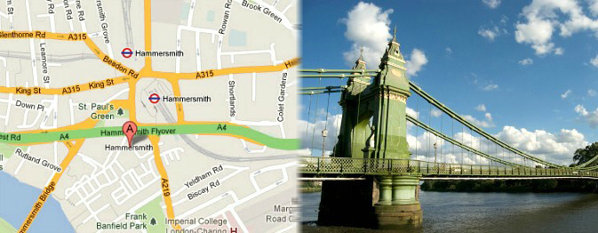 Hotels near Hammersmith