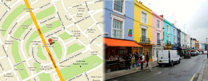 London Tourist Attractions In Notting Hill