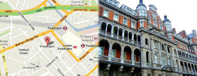 Hotels Near Paddington Station London England