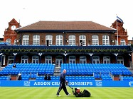 Queens Club stands
