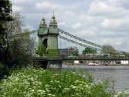 Hammersmith's charming Riverside Walk