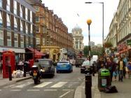 Queensway cosmopolitan street