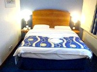 A Double room at Quality Hotel London Wembley