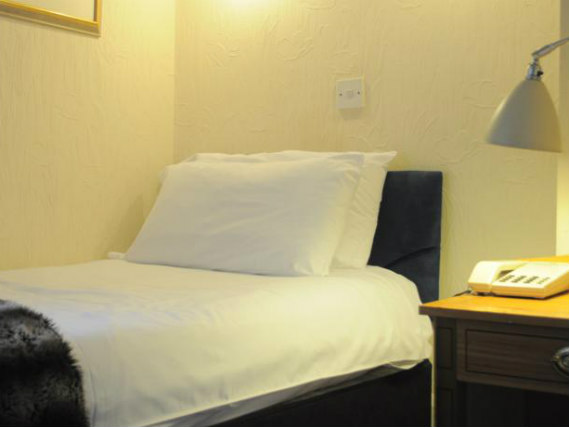 Single rooms at Royal Norfolk Hotel provide privacy