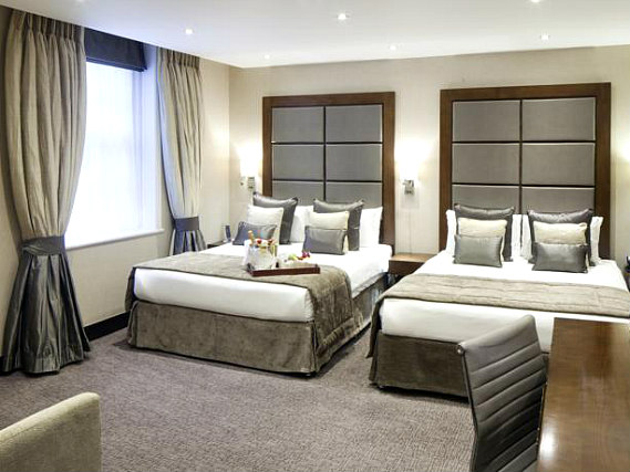 Quad rooms at Grange Wellington Hotel are the ideal choice for groups of friends or families
