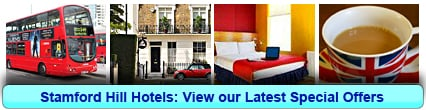 Stamford Hill Hotels: Book from only £22.50 per person!