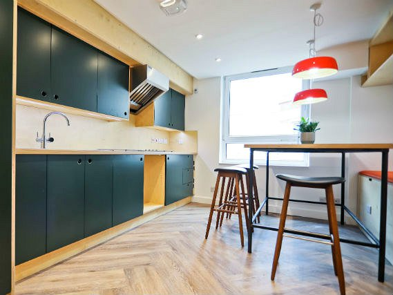 Self Catering Kitchen at Stamford Street Apartments