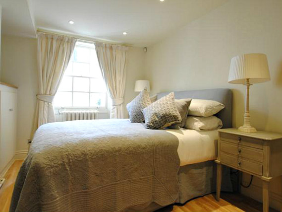A double room at Vancouver Studios London