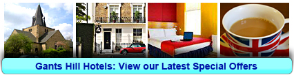 Hotels in Gants Hill: Book from only £28.33 per person!