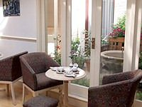 The meeting area at Abcone Hotel London