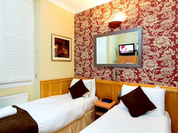A twin room at Albion House Hotel is perfect for two guests